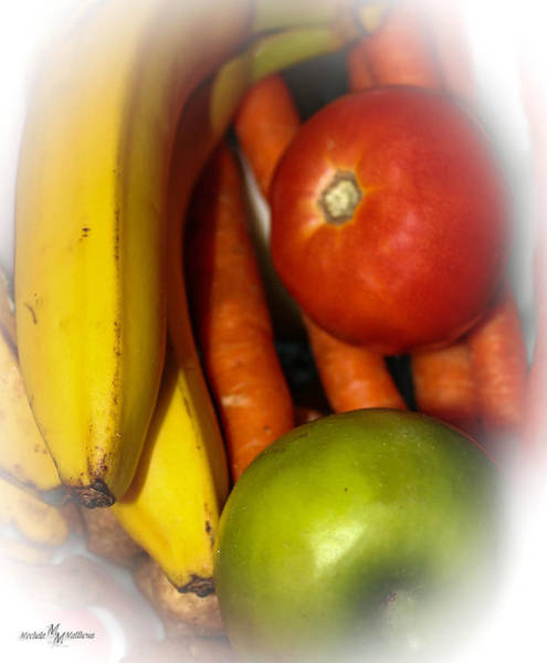 Wall Art - Photograph - Fruit And Veggie Collection by Mechala Matthews