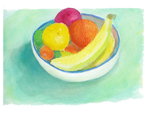 Painting - Fruit Bowl by C Sitton