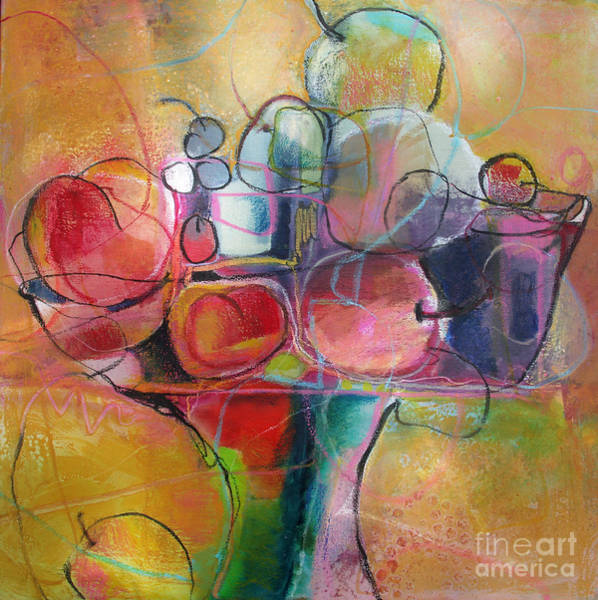 Painting - Fruit Bowl No.1 by Michelle Abrams