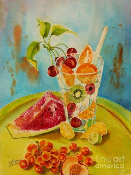 Painting - Fruit Coctail by Summer Celeste
