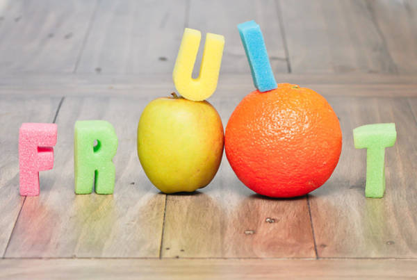 Kindergarten Photograph - Fruit Concept by Tom Gowanlock