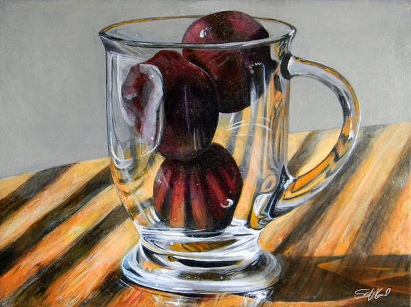 Painting - Fruit Cup by Steve Goad
