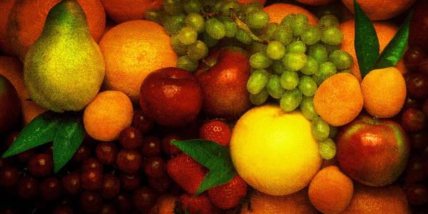 Pyrography - Fruit  by Mauro Celotti