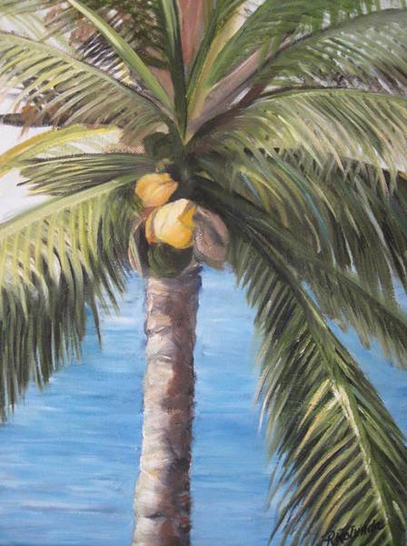 Fruit Of The Palm Art Print