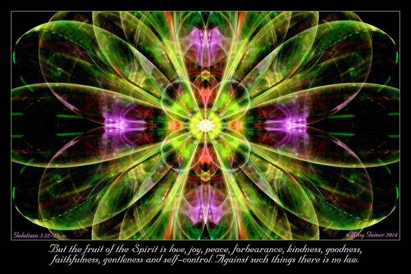 Digital Art - Fruit Of The Spirit by Missy Gainer
