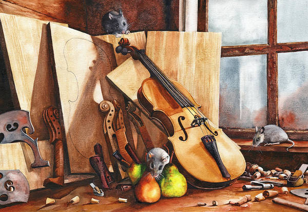Painting - Fruit Of The Wood by Peter Williams