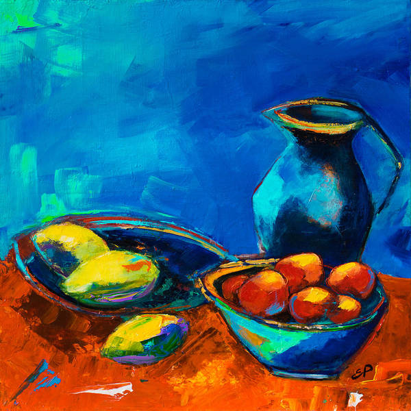 Painting - Fruit Palette by Elise Palmigiani