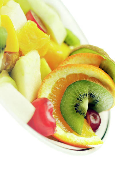 Salad Photograph - Fruit Salad by Uk Crown Copyright Courtesy Of Fera/science Photo Library