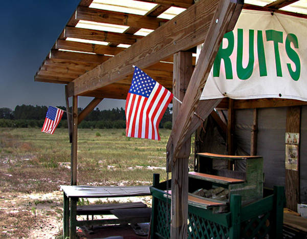 Photograph - Fruit Stand Usa by Steve Sperry