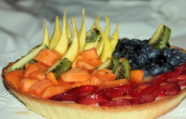 Photograph - Fruit Tart by Kristin Elmquist