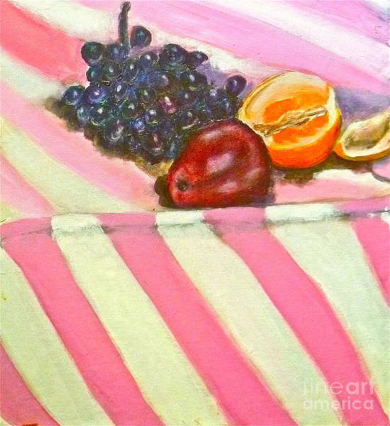 Avi Painting - Fruit by Avi Zamir