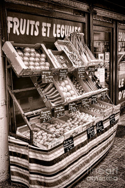 Fruit Stand Wall Art - Photograph - Fruits Et Legumes by Olivier Le Queinec