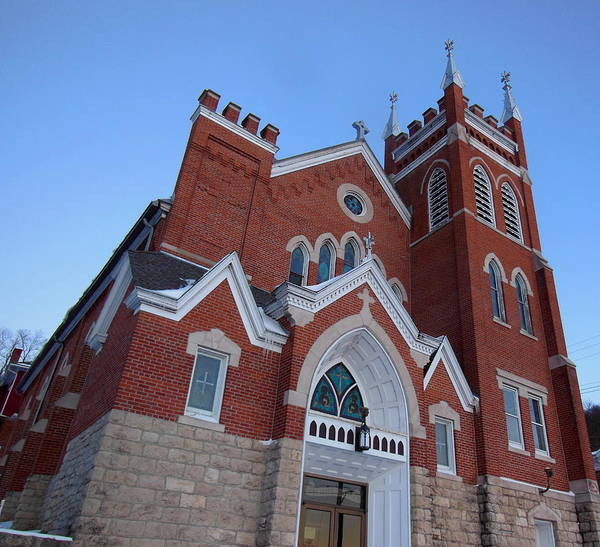 Photograph - Ft City Catholic Church by Wild Thing