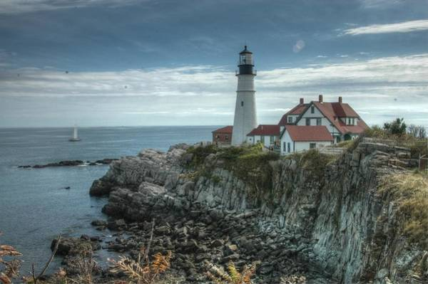 Photograph - Ft. Williams Lighthouse by Michael Kirk