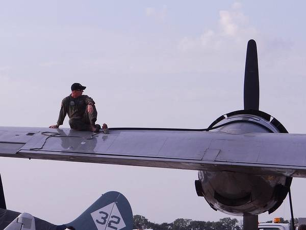 Photograph - Fueling The Superfortress by Keith Stokes