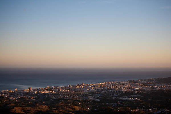 Photograph - Fuengirola Aerial by Paul Indigo