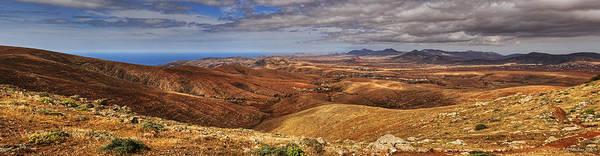 Photograph - Fuerteventura Iterior Panorama by Julis Simo