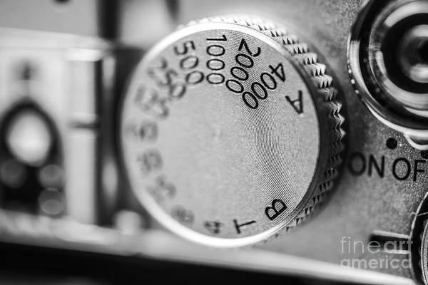 Photograph - Fujifilm X-e1 Shutter Dial by David Haskett II