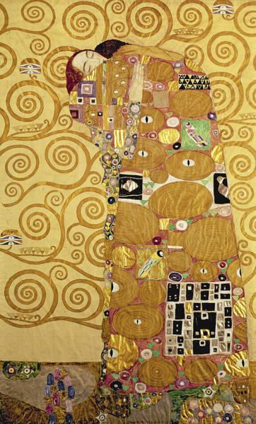 Painting - Fulfilment by Gustav Klimt