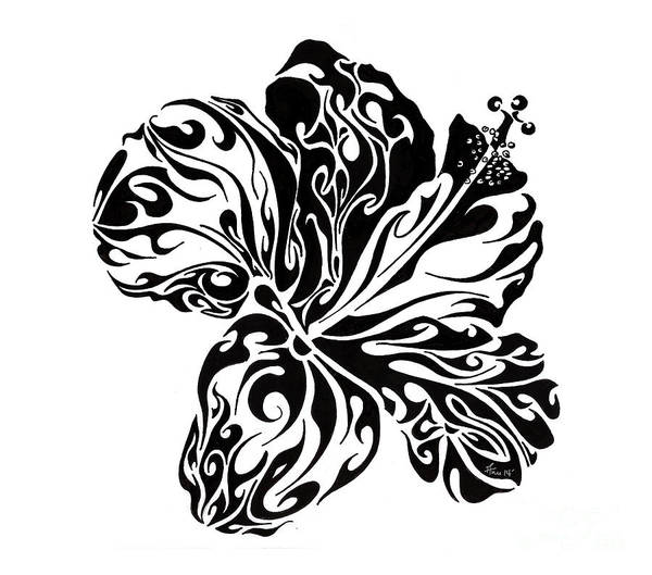 Doodle Painting - Full Bloom Of Hope by Anushree Santhosh