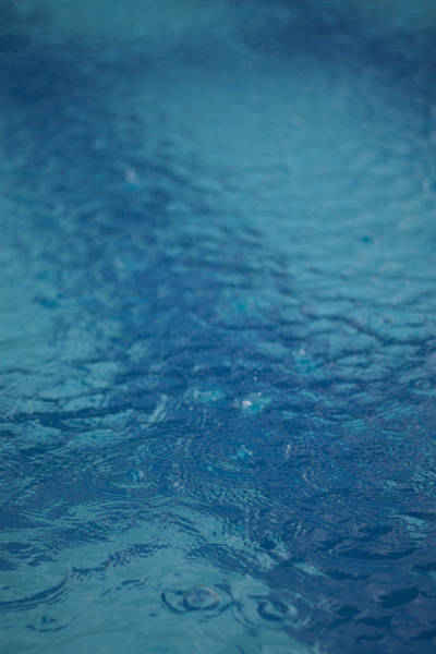 Full Frame Shot Of Swimming Pool Art Print by Anselm Lier / EyeEm