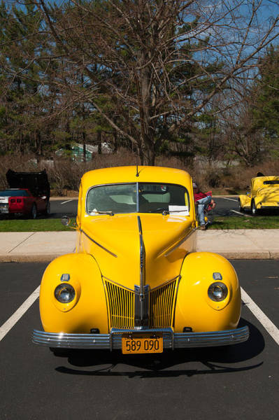 Photograph - Full Frontal Yellow by Keith Swango