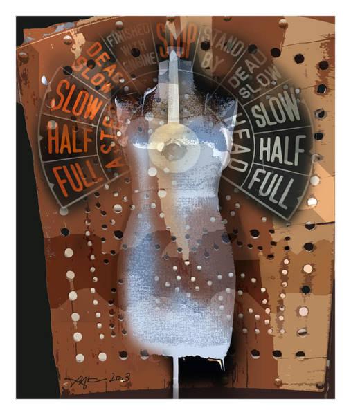 Wall Art - Digital Art - Full Speed Ahead by Bob Salo