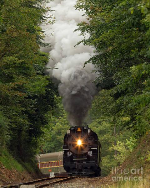 Photograph - Full Steam Ahead by Joshua Clark