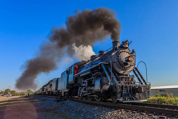 Photograph - Full Steam Ahead by Keith Allen