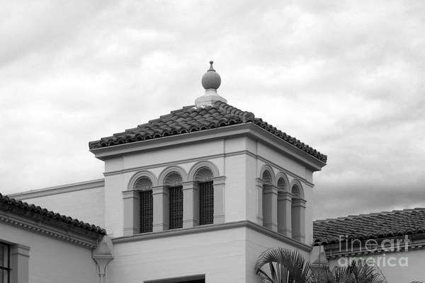 Photograph - Fullerton College Administration Building Tower by University Icons