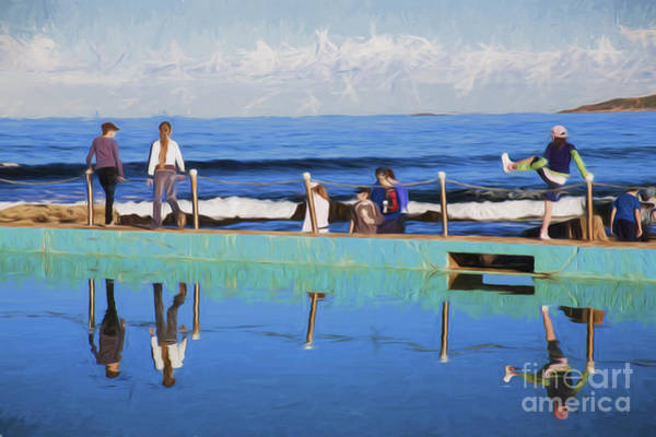 Wall Art - Photograph - Fun At The Rockpool by Sheila Smart Fine Art Photography
