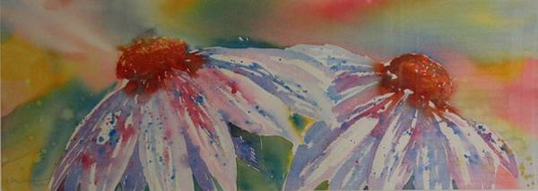Painting - Funky II Conflowers by Tara Moorman