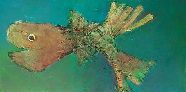 Painting - Funny Fish by Jillian Goldberg