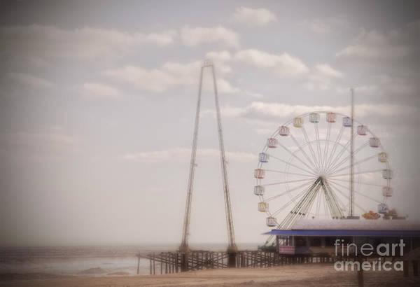 Photograph - Funtown Pier by Debra Fedchin