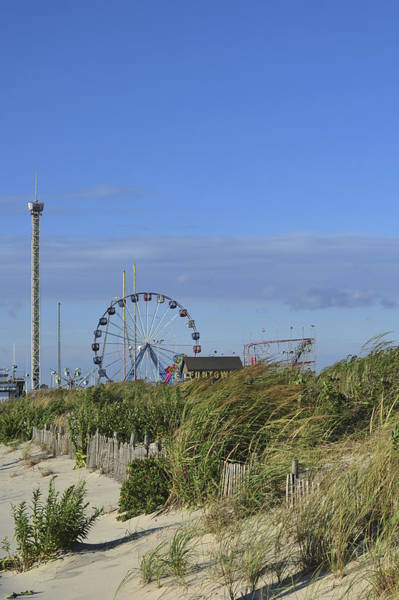 Photograph - Funtown Pier Seaside Park New Jersey by Terry DeLuco