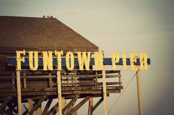 Photograph - Funtown Vintage by Terry DeLuco