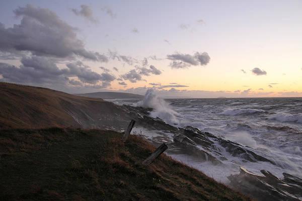 Cabot Trail Photograph - Furious Ocean by Roman Buchhofer