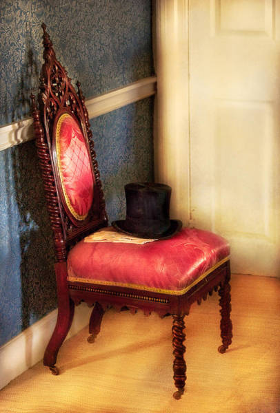 Photograph - Furniture - Chair - Ready For The Ball by Mike Savad