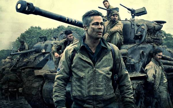 Photograph - Fury  by Movie Poster Prints