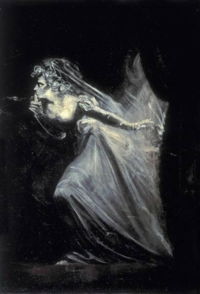 1741 Photograph - Fuseli, Johann Heinrich 1741-1825. Lady by Everett