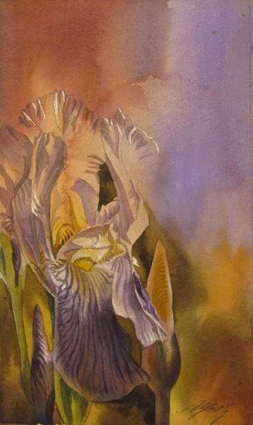 Painting - Fusion Iris by Alfred Ng