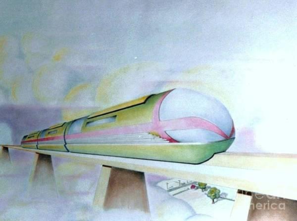 Drawing - Future by David Neace