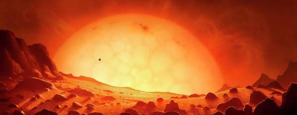 Wall Art - Photograph - Future Red Giant Sun by Mark Garlick/science Photo Library