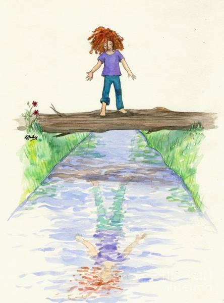 Potential Painting - Future Reflections by Katrina Hawley