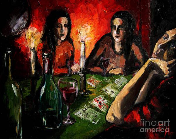 Future Painting - Future Telling by Mona Edulesco