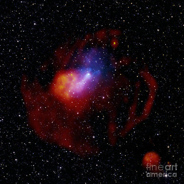 Photograph - G327.1-1.1-pulsar Wind Nebula by Science Source
