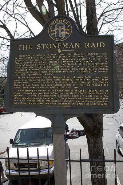 Artillery Brigade Photograph - Ga-029-6 The Stoneman Raid by Jason O Watson
