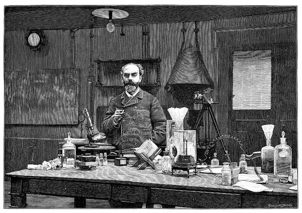 1894 Photograph - Gabriel Lippmann by Science Photo Library