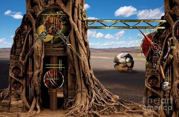 Red Sky Digital Art - Gagilus Time Dream by Franziskus Pfleghart