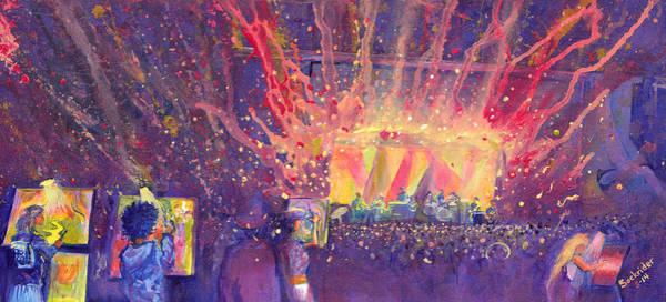 Galactic At Arise Music Festival Art Print